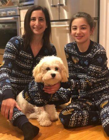 cavachon family matching pajamas